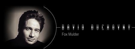 David Duchovney/Fox Mulder's Vital Statistics