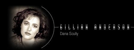 Gillian Anderson/Dana Sculley's Vital Statistics